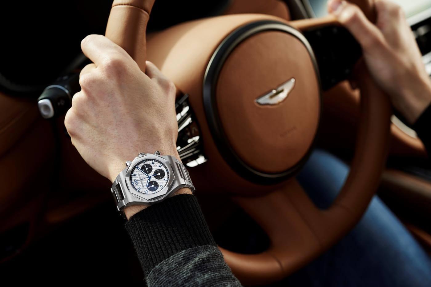 Girard-Perregaux Socio Relojero Oficial de Aston Martin