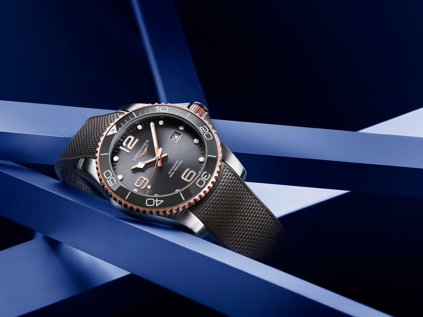 Longines HydroConquest Bicolor 8