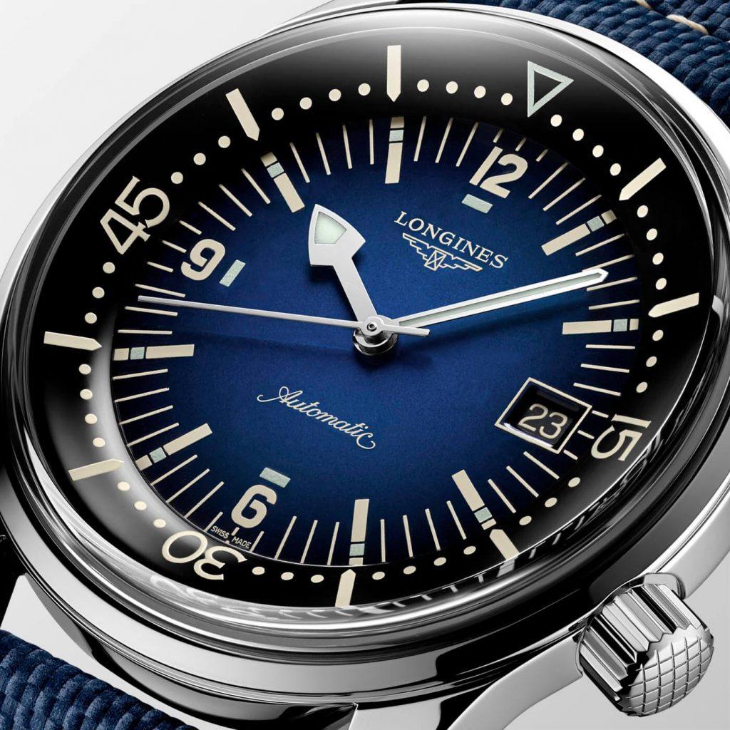 Longines Legend Diver Watch deta 1
