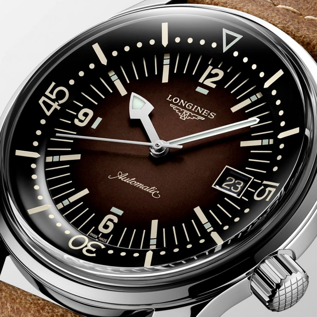 Longines Legend Diver Watch deta 2
