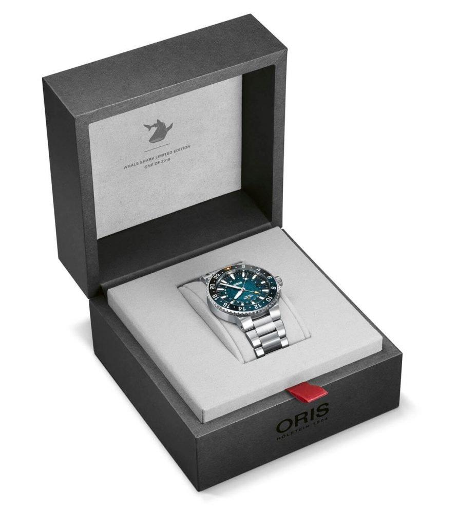 Oris Whale Shark Limited Edition box