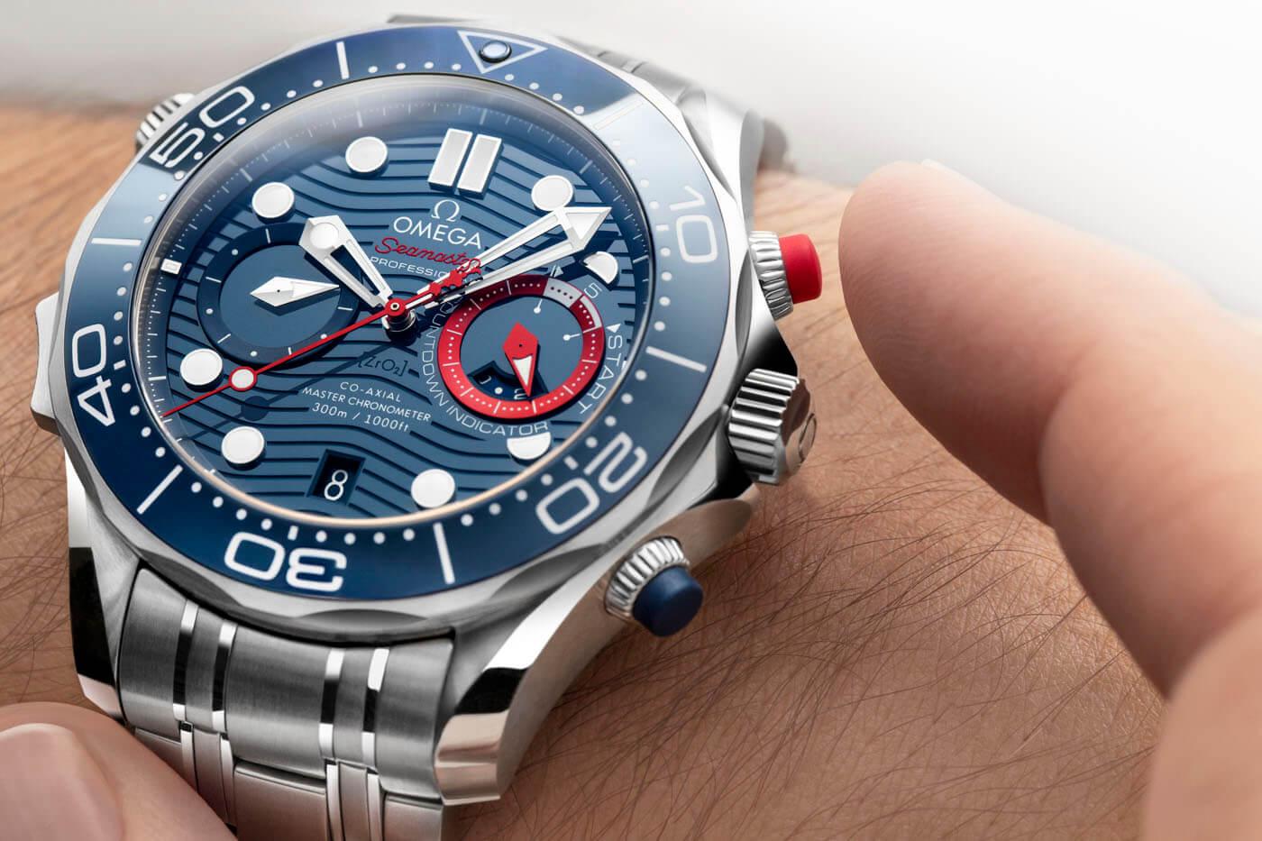 omega Seamaster Diver 300M America's Cup Chronograph portada