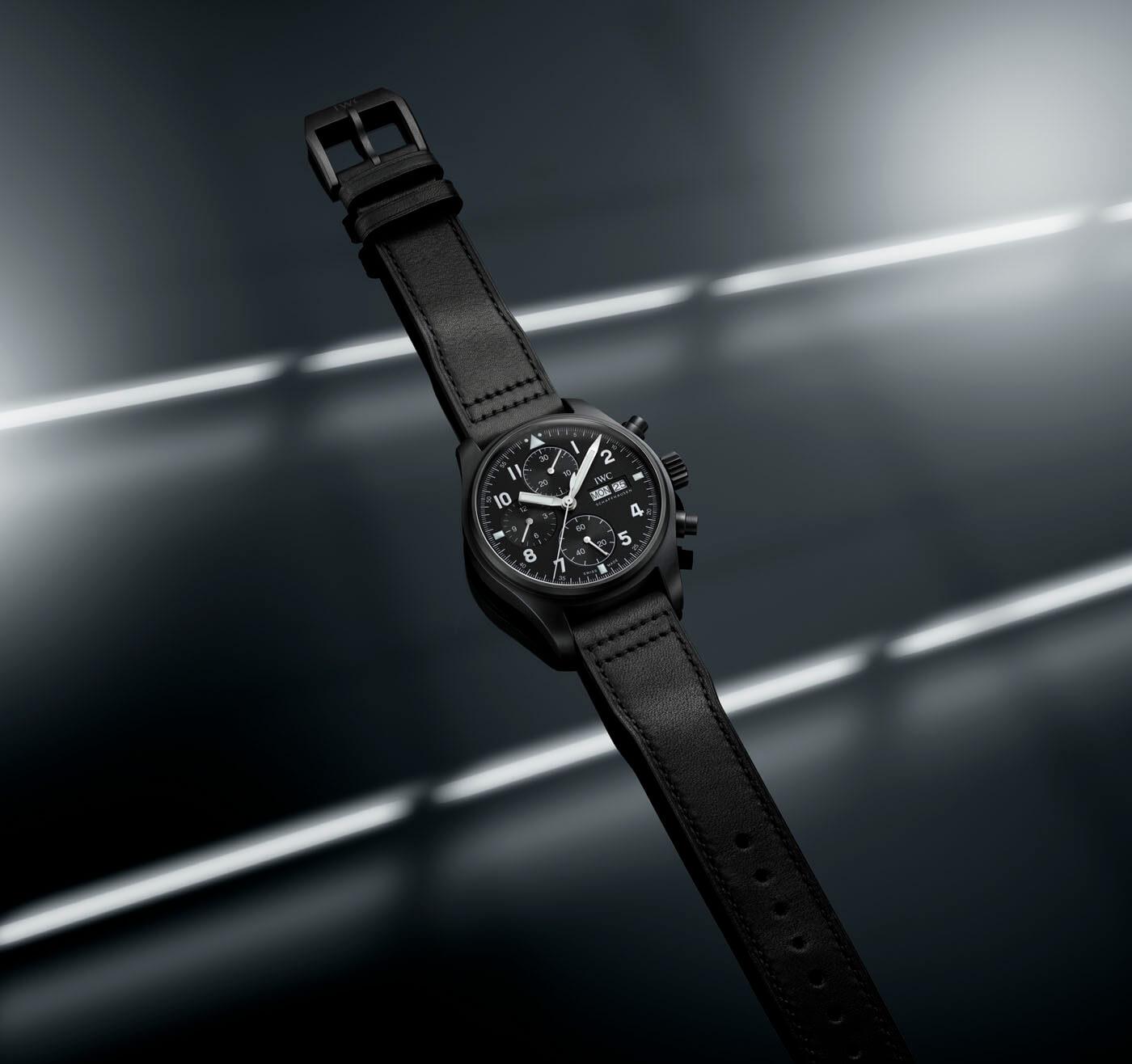 """Iwc Reloj de Aviador Cronógrafo Edición """"Tribute to 3705"""" portada"""