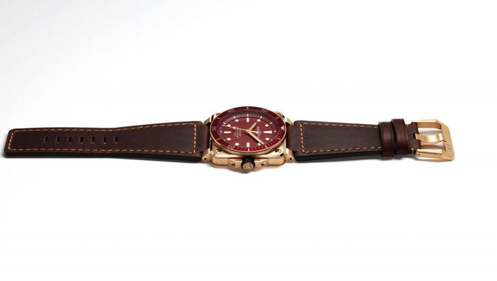 Bell & Ross BR 03-92 Diver Red Bronze lado