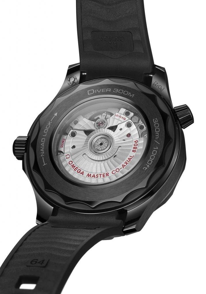Omega Seamaster Diver 300M Black Black back