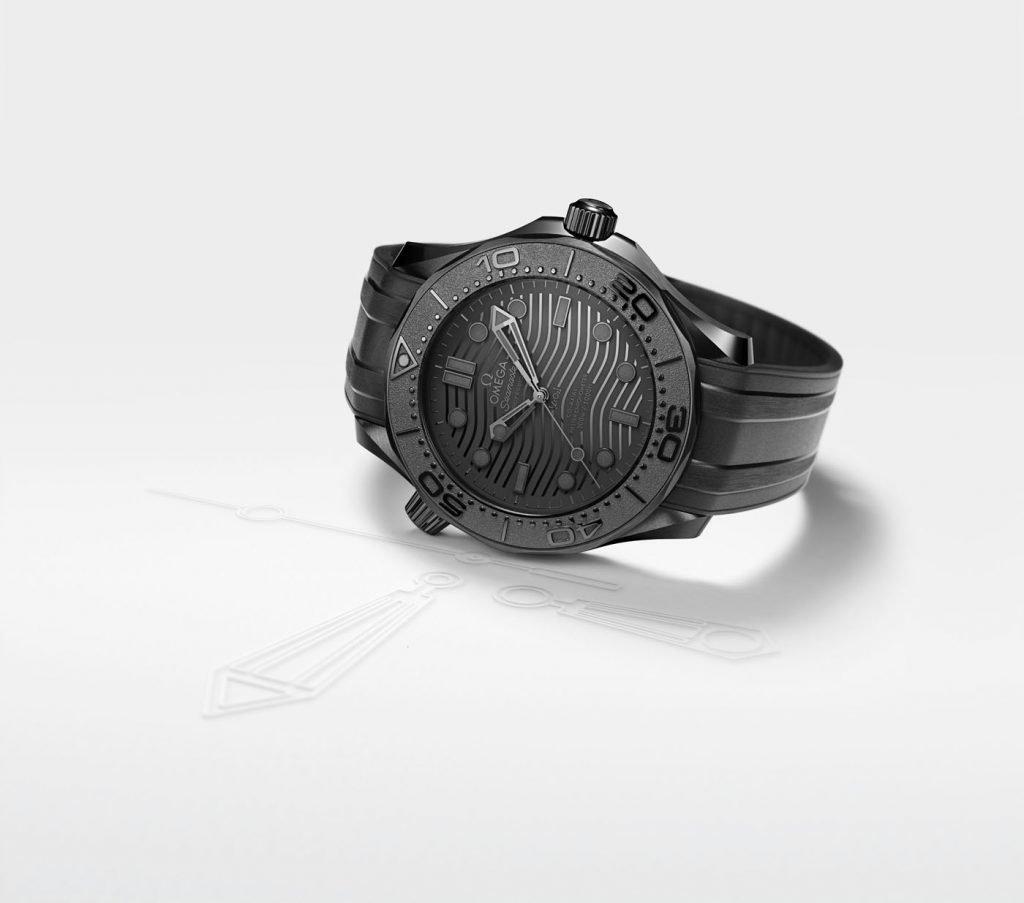 Omega Seamaster Diver 300M Black Black portada