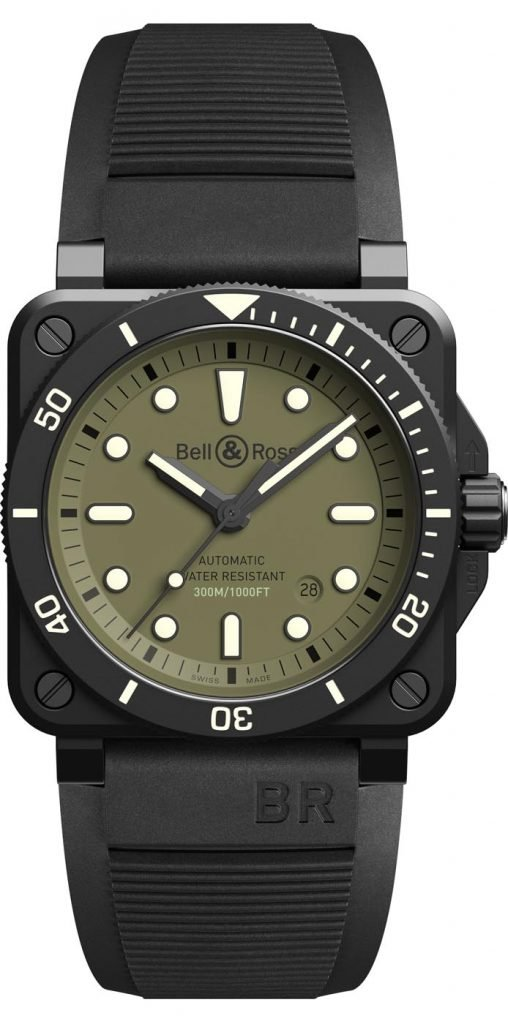 Bell & Ross BR 03-92 Diver Military 4