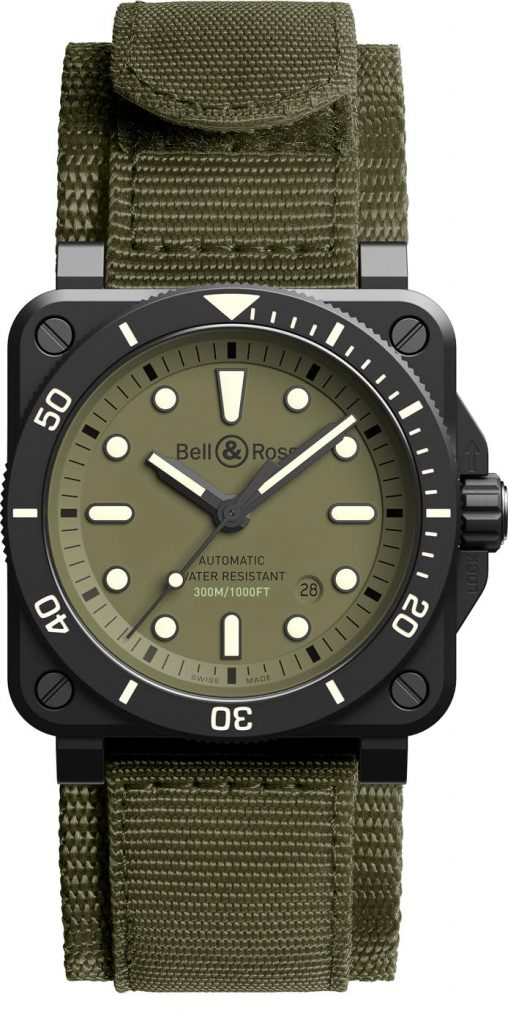 Bell & Ross BR 03-92 Diver Military 3