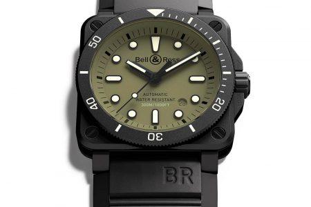 BR 03-92 Diver Military de Bell & Ross