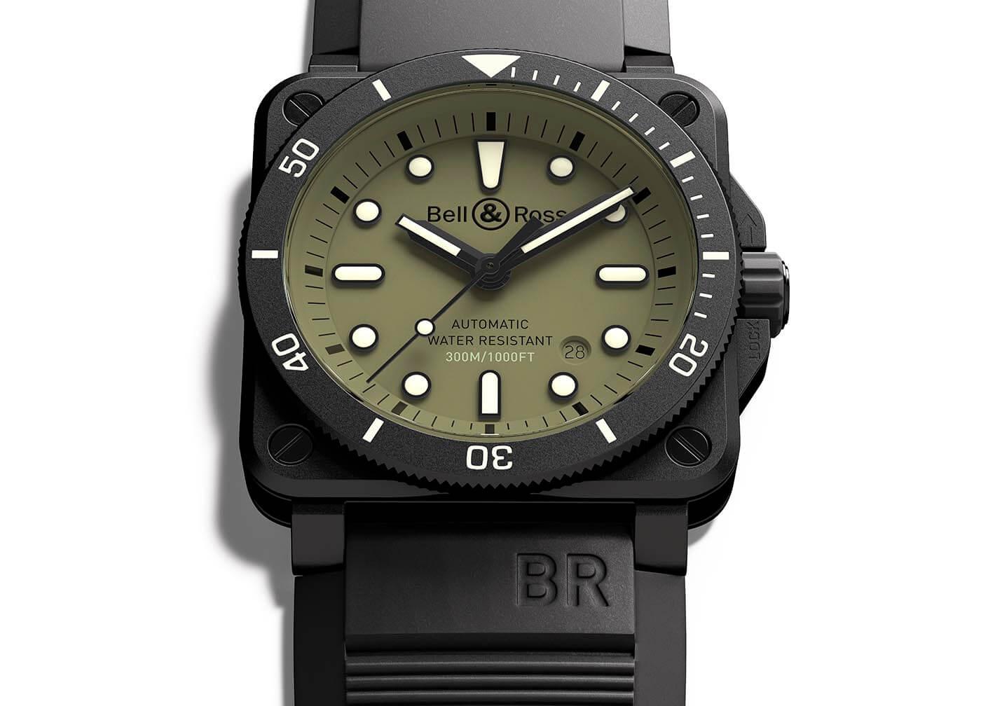 Bell & Ross BR 03-92 Diver Military portada