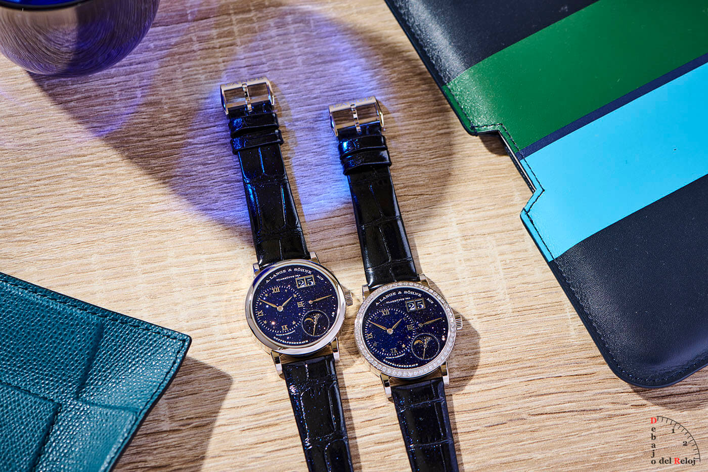 A. Lange & Söhne Little Lange 1 Moon Phase En el Estudio 3