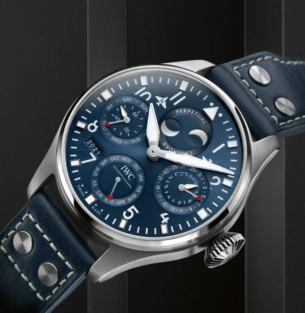 IWC Gran Reloj Aviador Calendario Perpetuo Azul inc