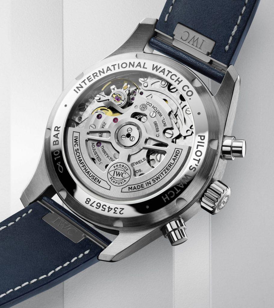 IWC Reloj de Aviador Cronógrafo 41 back