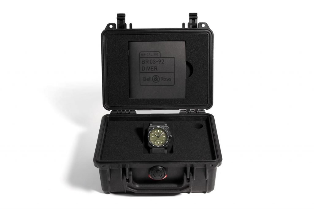 Bell & Ross BR 03-92 Diver Military b
