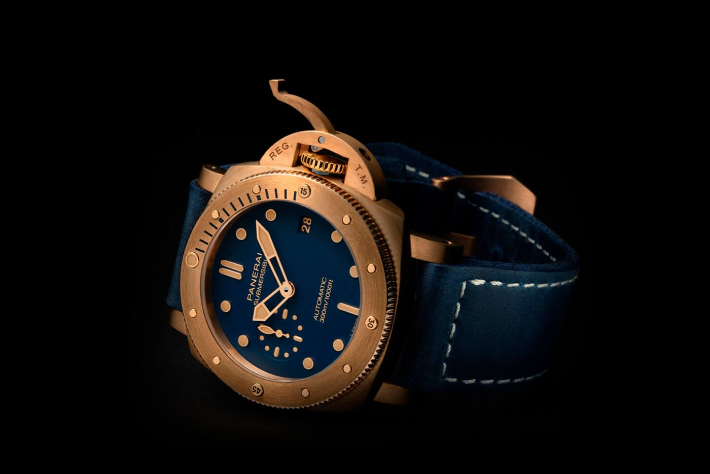 Panerai Submersible Bronzo Blu Abisso PAM1074 portada