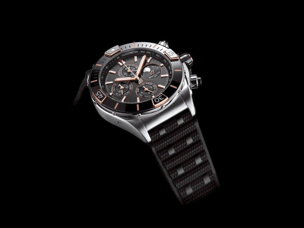 Breitling Super Chronomat B01 44 negro 1