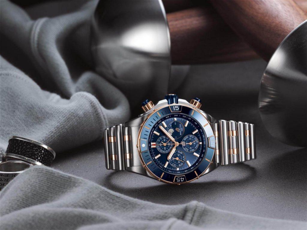 Breitling Super Chronomat B01 44 azul 2