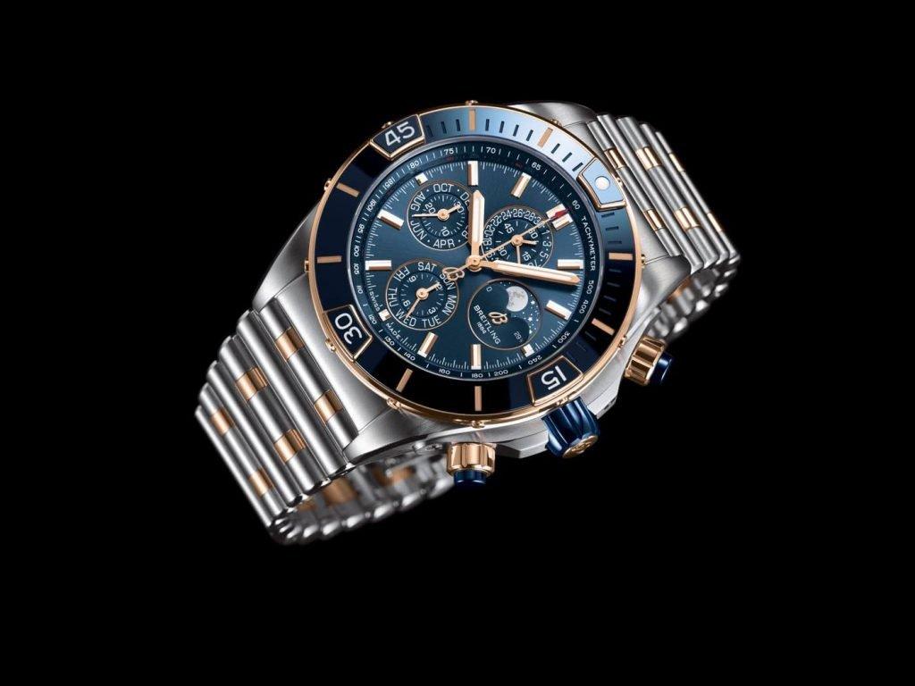Breitling Super Chronomat B01 44 azul 1