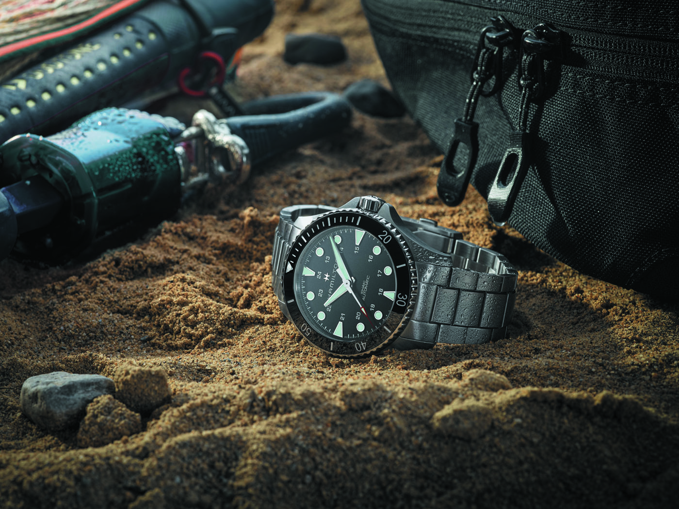 HAMILTON Khaki Navy Scuba Automatic 43 mm 1