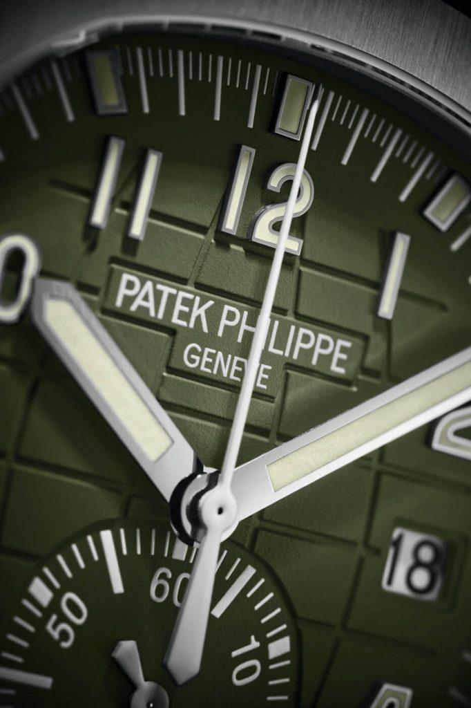 Patek Philippe Cronógrafo Aquanaut Nuevos Modelos 2021 15