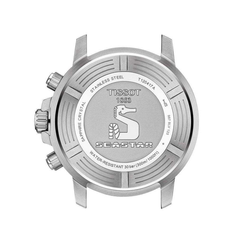 Tissot Seastar 1000 Quartz Chrono back