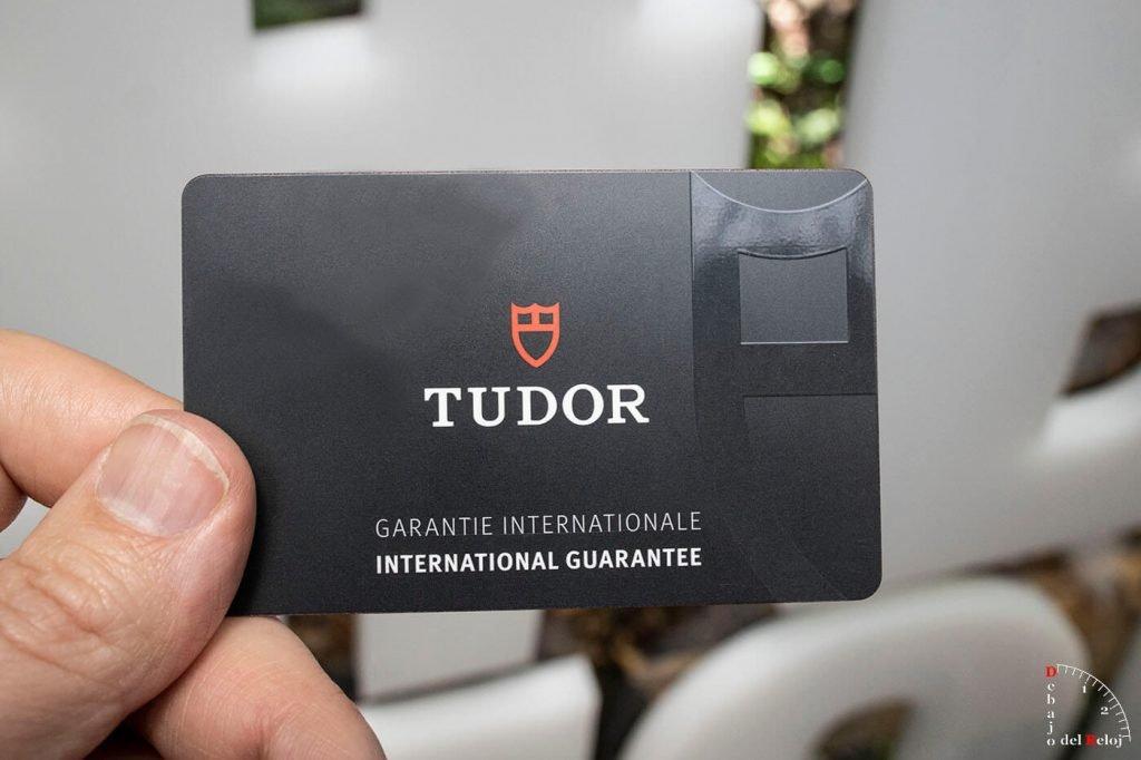 Tudor Black Bay Ceramic Certificado Metas 7