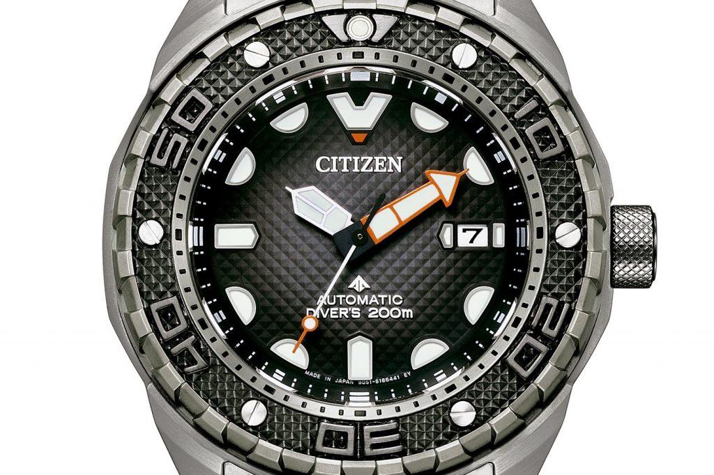 Citizen Promaster Mechanical Diver 200m Automático short