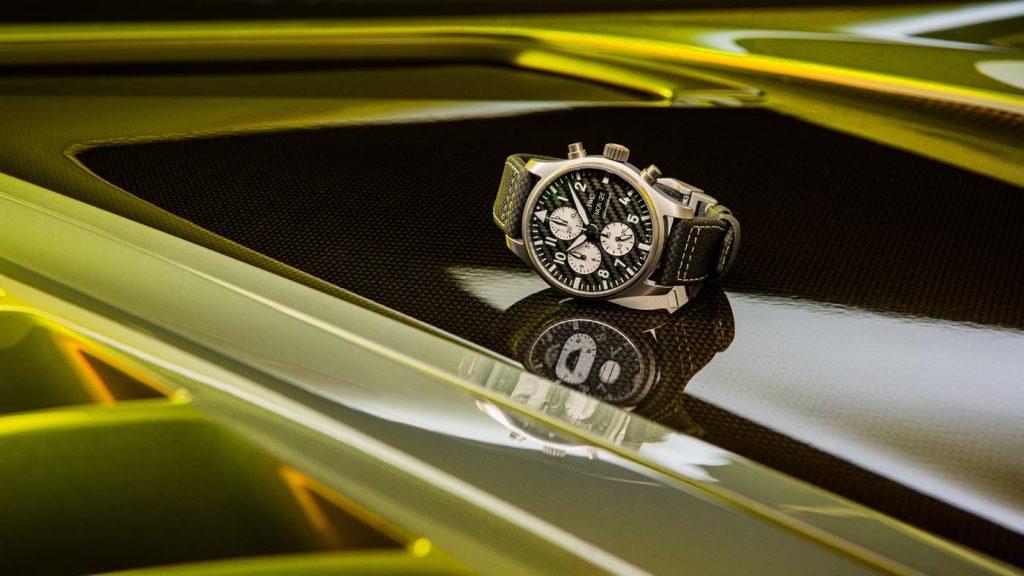 Iwc Reloj Aviador Cronógrafo Edición AMG (Ref. IW377903) 05