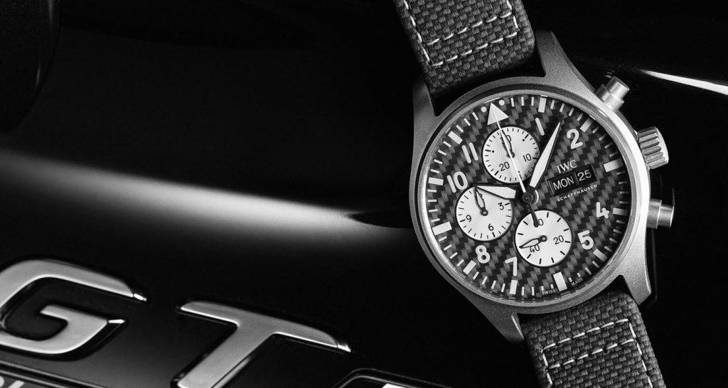 Iwc Reloj Aviador Cronógrafo Edición AMG (Ref. IW377903) 06