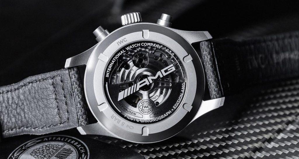 Iwc Reloj Aviador Cronógrafo Edición AMG (Ref. IW377903) 07