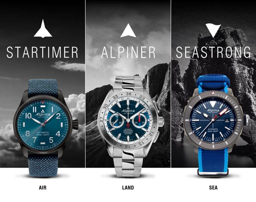 Community Watch de Alpina Tres Nuevos Relojes 1