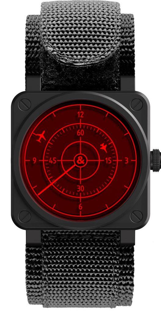 Bell & Ross BR 03-92 Red Radar Ceramic front 2