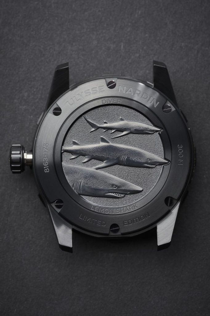 Ulysse Nardin Diver Lemon Shark 12