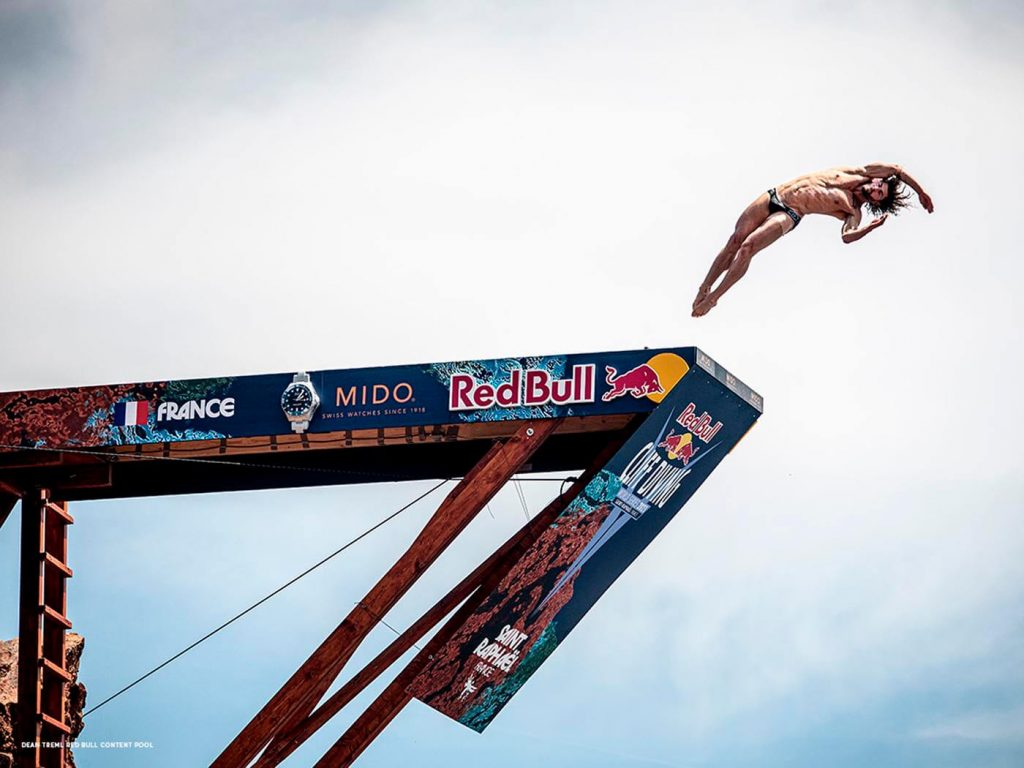 Mido Ocean Star 200 Red Bull Cliff Diving Limited Edition 1