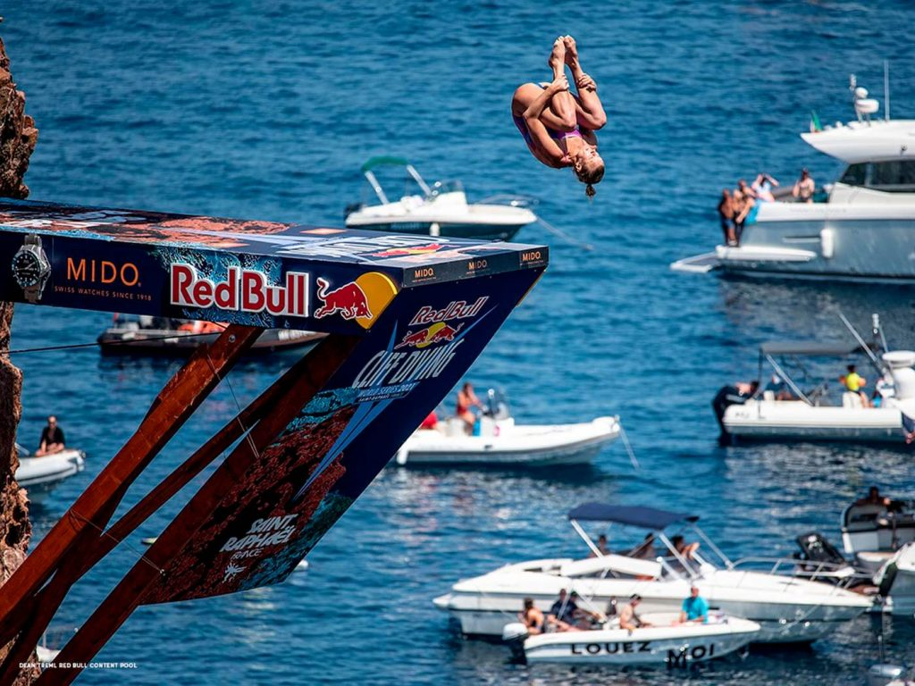 Mido Ocean Star 200 Red Bull Cliff Diving Limited Edition 2
