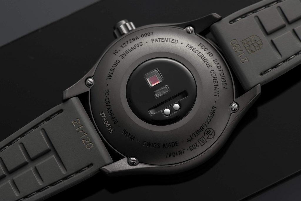 Frederique Constant Smartwatch Gents Vitality back 2