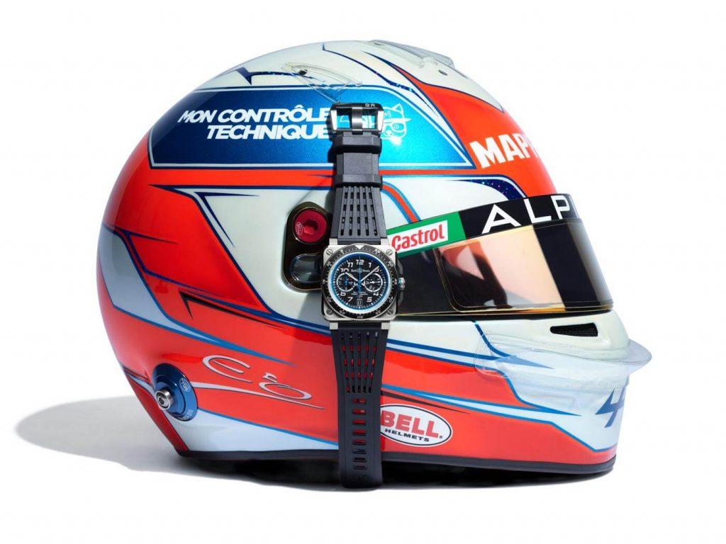 Bell & Ross Colección Alpine F1 Team casco