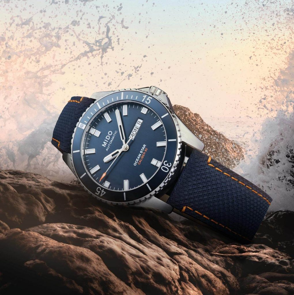 Mido Ocean Star 200 Red Bull Cliff Diving Limited Edition ini