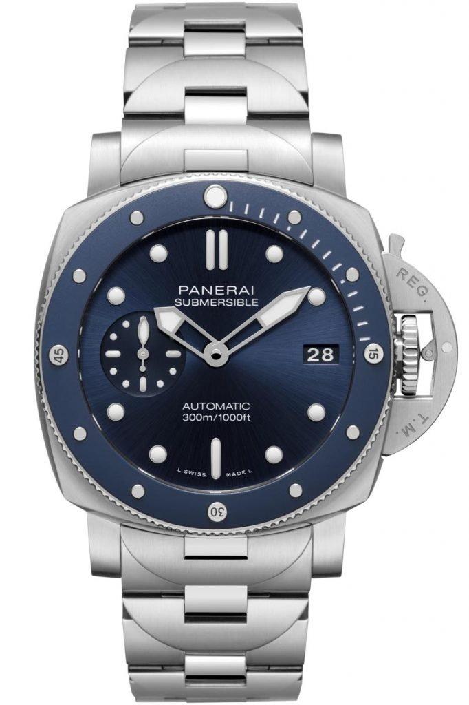 Panerai Submersible Blu Notte (PAM01068) front