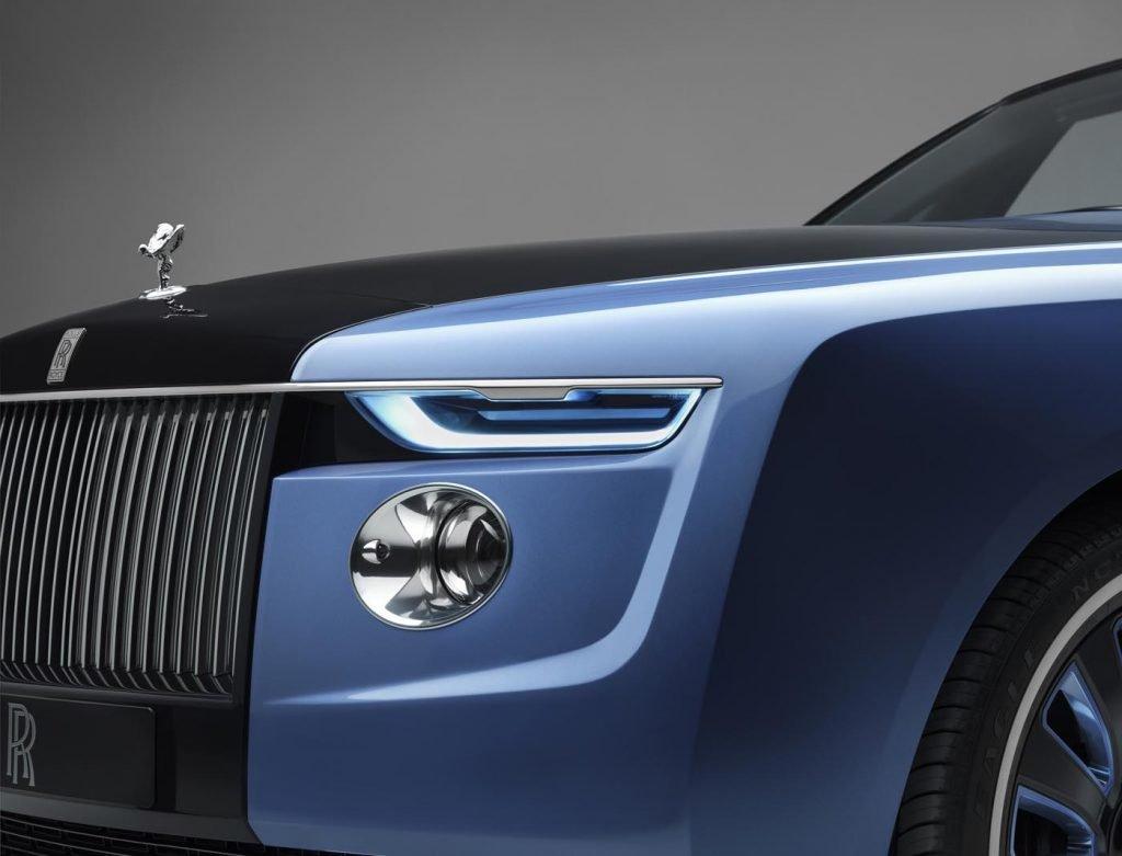 Colaboración Bovet 1822 Rolls-Royce coche 2