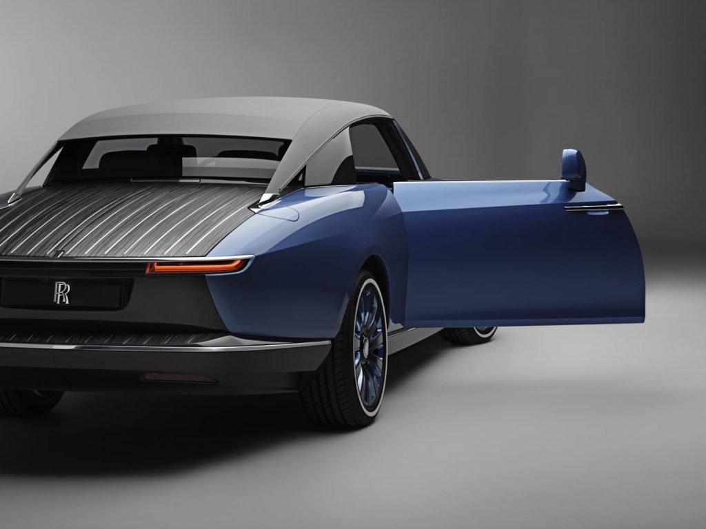 Colaboración Bovet 1822 Rolls-Royce coche 4
