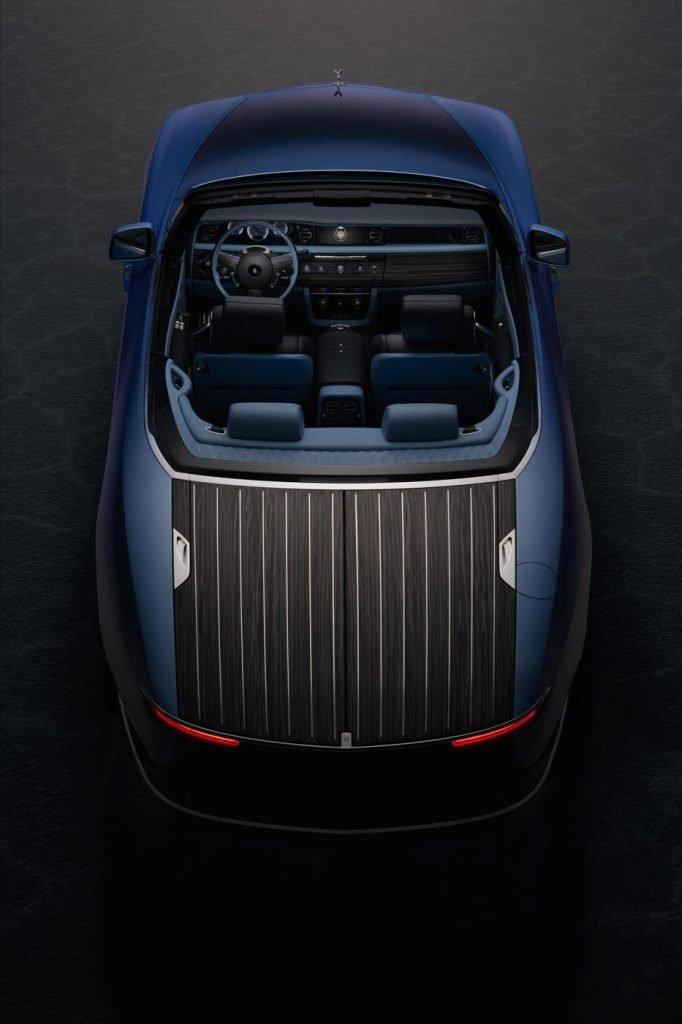 Colaboración Bovet 1822 Rolls-Royce coche 5
