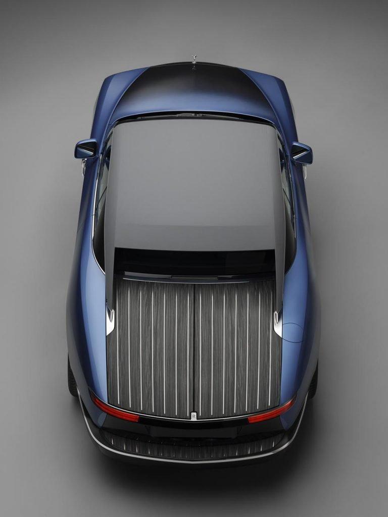 Colaboración Bovet 1822 Rolls-Royce coche 6