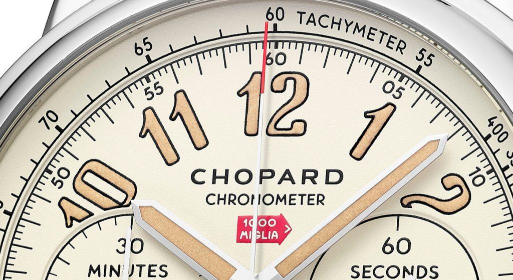 Chopard Mille Miglia Classic Chronograph Raticosa esfera 1