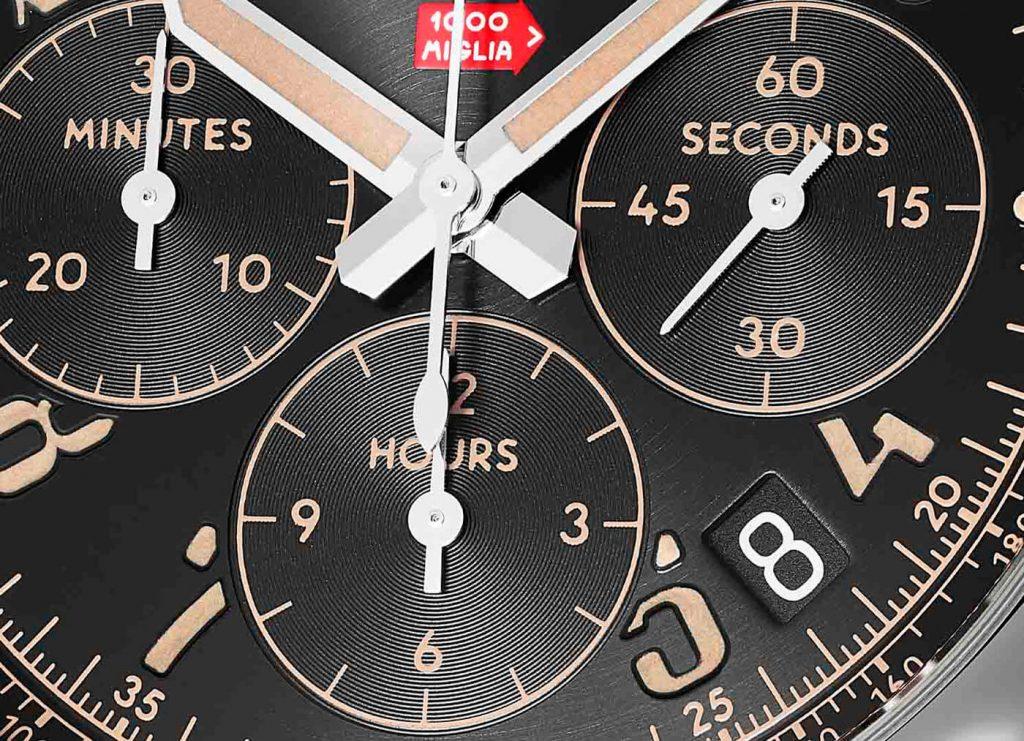 Chopard Mille Miglia Classic Chronograph Raticosa esfera 2