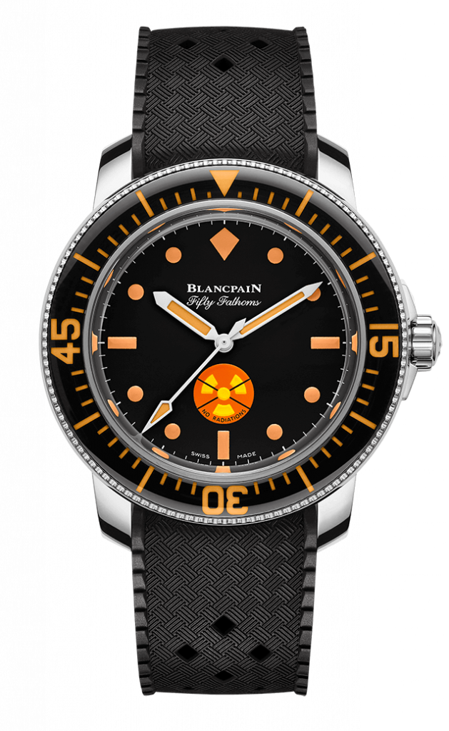 Blancpain Tribute to Fifty Fathoms No Rad front