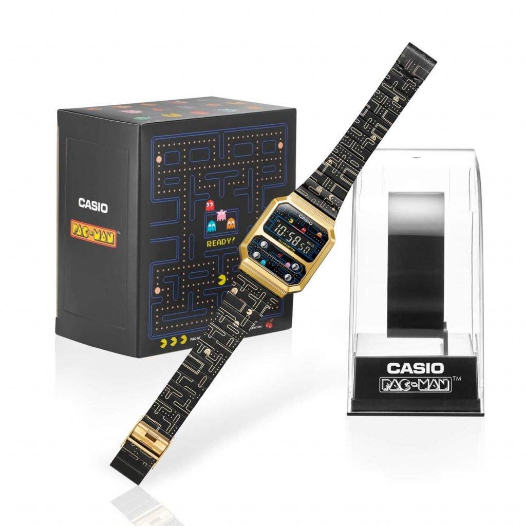 Casio A100 Pacman A100WEPC-1B 1