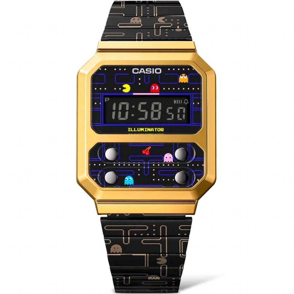 Casio A100 Pacman A100WEPC-1B 3