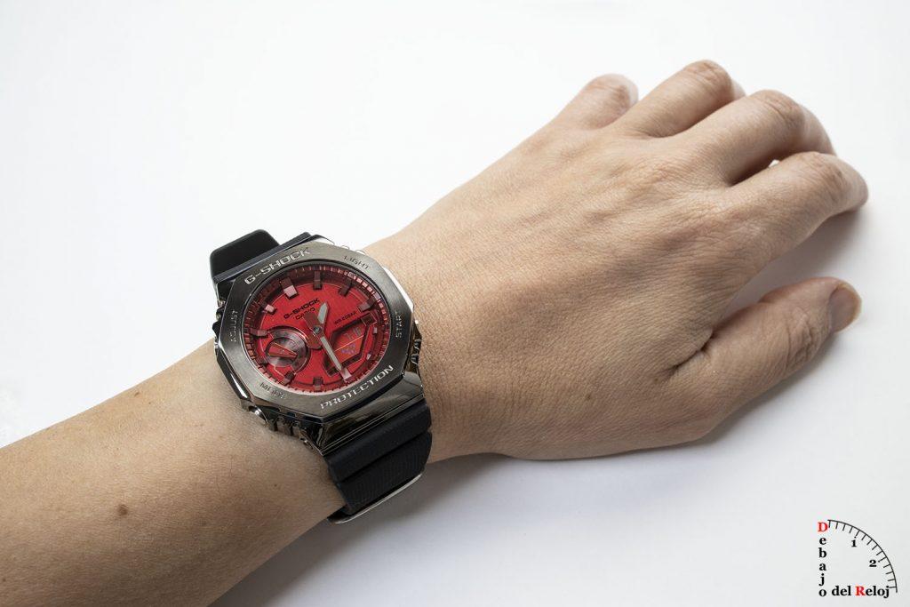 G-Shock GM-2100 CasiOak Metálicos MU 3