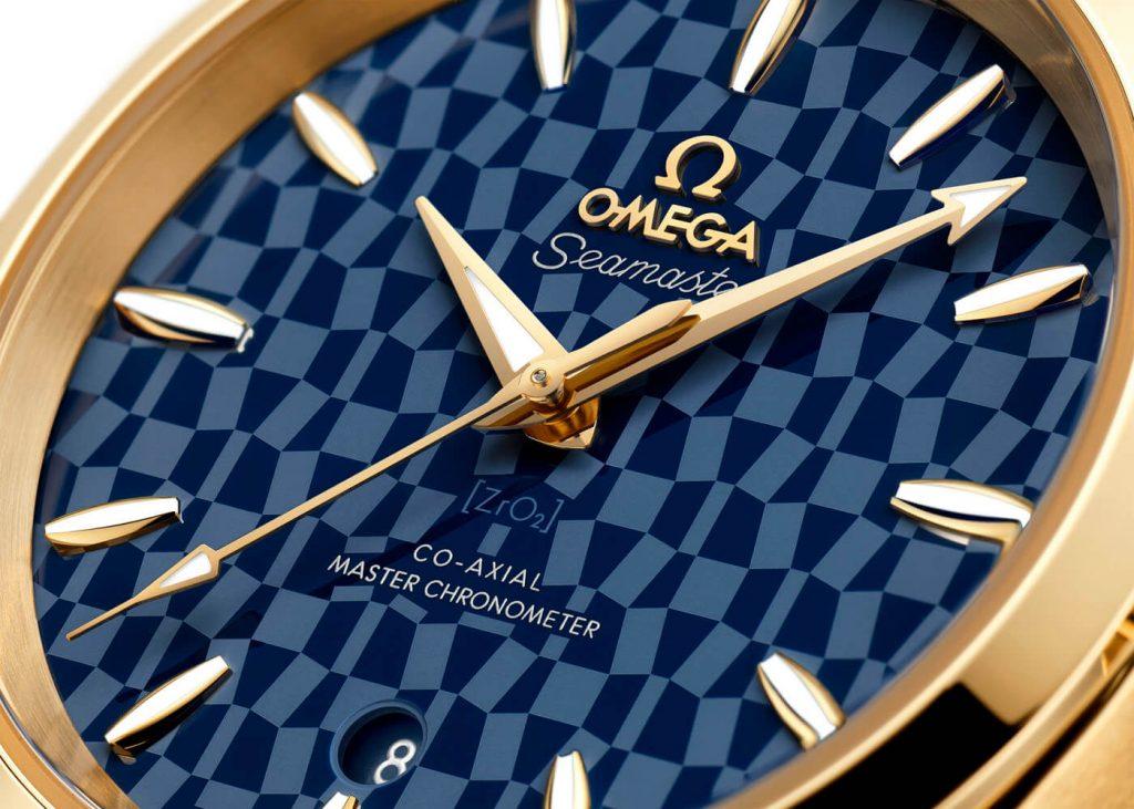 Omega Seamaster Aqua Terra Tokyo 2020 Gold Editions 6